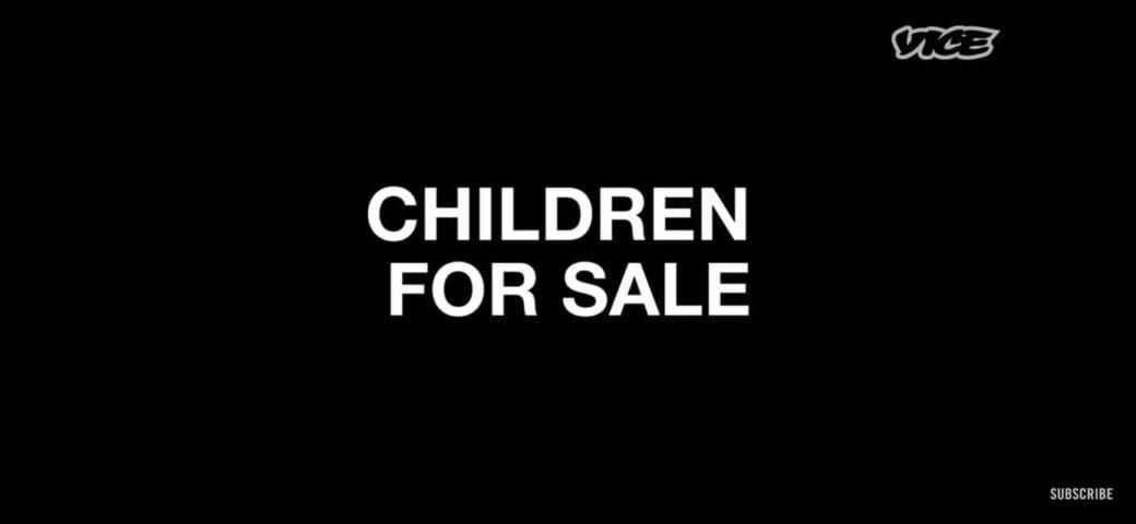 Vice - Children for Sale